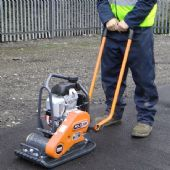 320mm & 400mm Compactor Plates - Petrol (For Hire)